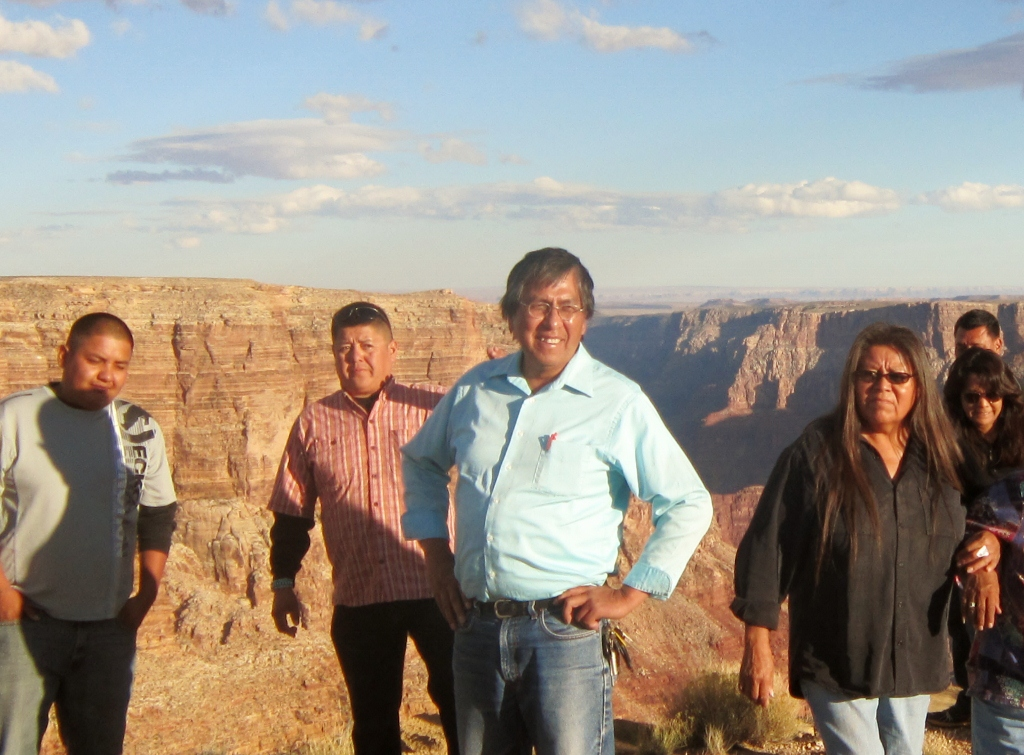 Navajo Nation Council Delegate Makes Fact Finding Tour of Esclade Site