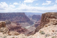 The Grand Canyon from the Escalde location.